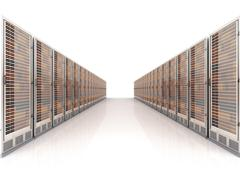 Server center Stock Illustration