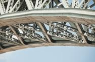 Stock Photo of bridge frame closeup