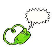 Cartoon evil technology Stock Illustration