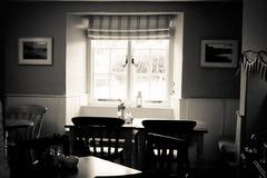 Cornish cafe Stock Photos