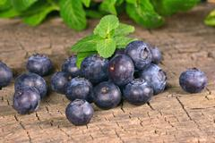 blueberries - stock photo