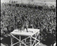 WW1 - US Recruiting Infantry 02 - stock footage
