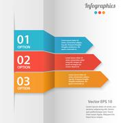 Stock Illustration of business infographics vector illustration