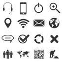 Web and mobile icons Stock Illustration