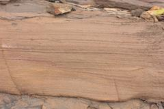 Geology - Sedimentary structures - Planar / Varve Layers - stock photo