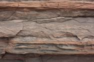 Stock Photo of Geology - Bioturbation