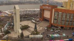 Seoul City 277 Yoido Full Gospel Church - stock footage