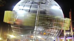 HD Universal Studio Hollywood Globe Timelapse Stock Footage