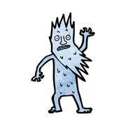 Stock Illustration of jack frost cartoon