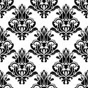 Stock Illustration of damask seamless pattern background
