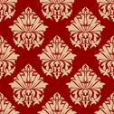 Stock Illustration of retro damask style arabesque pattern