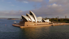 Sydney Opera House 2 Stock Footage