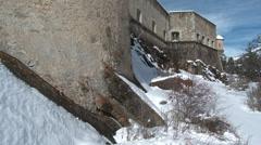 Colmar Fort De Savoie Pan 3 Stock Footage