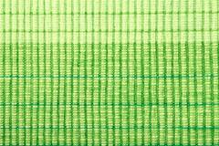 Green stripe fabric texture Stock Photos