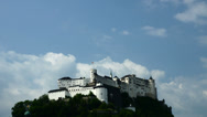 Stock Video Footage of Salzburg Fortress (Ultra HDTV)
