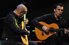 Flamenco concert - stock photo