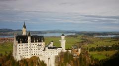 Neuschwanstein castle (Ultra HDTV) Stock Footage