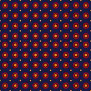 Abstract retro background. creative stars pattern. vector. Stock Illustration