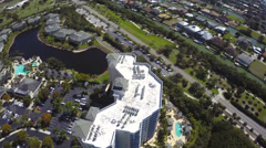 Buildings in Naples Florida Stock Footage