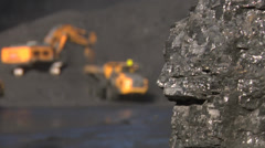 Mining - Truck Loading Stock Footage