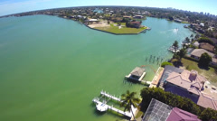 Residential Islands Marco Island Stock Footage