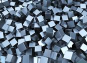 Stock Illustration of metal squares