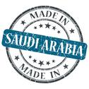 Stock Illustration of made in saudi arabia blue grunge stamp isolated on white background
