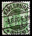 Stock Photo of isolated german postage stamp