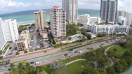 Stock Video Footage of Miami Beach condos