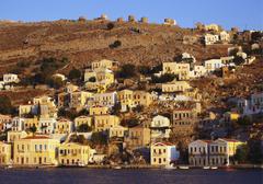 plati yialos, mykonos, greek islands - stock photo