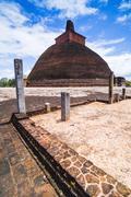 Jetvanarama dagoba (jetvanaramaya stupa), anuradhapura, unesco world heritage Stock Photos