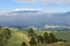 Pichincha volcano, pichincha province, ecuador Stock Photos