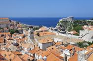 Stock Photo of old town, unesco world heritage site, dubrovnik, dalmatia, croatia