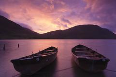 Crummock Water, United Kingdom Stock Photos