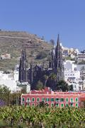 Arucas, Spain - stock photo