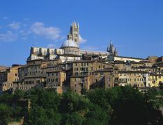 cathedral, siena, tuscany, italy - stock photo