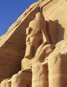 temple of rameses ii, abu simbel, egypt - stock photo