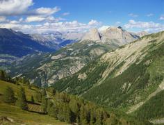 Mercantour national park, alpes-haute-provence, france Stock Photos