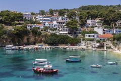 votsi bay, alonnisos, sporades, greek islands, greece, europe - stock photo
