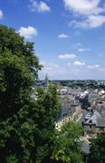 Combourg, brittany, france Stock Photos