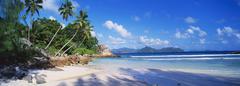 Anse severe, praslin, seychelles Stock Photos