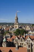 Kaupunkikuvaan yliopistosta kirkko, Oxford, oxfordshire, Englanti, Yhdistynyt kuningaskunta Kuvituskuvat
