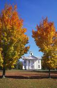 Quaker meetinghouse, mcindoe falls, vermont, new england, usa Stock Photos