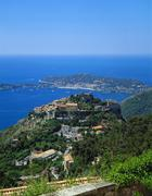 St-jean-cap-ferrat, cote d'azur, france Stock Photos