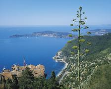 st jean cap ferrat, cote d'azur, france - stock photo
