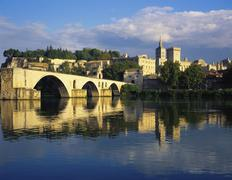 Papal palace, avignon, vaucluse, provence-alpes-cote d'azur, france Stock Photos
