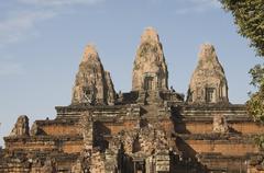 Pre rup temple, ad 961, siem reap, cambodia Stock Photos