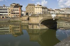 River arno, florence (firenze), tuscany, italy, europe Stock Photos