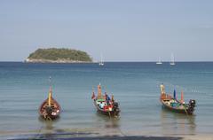 Kata beach, phuket, thailand Stock Photos