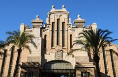 Central market dating from 1921, alicante, valencia province, spain, europe Stock Photos
